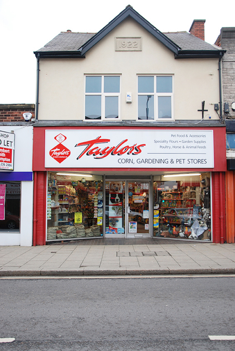 Store Front Image of a Taylors Branch