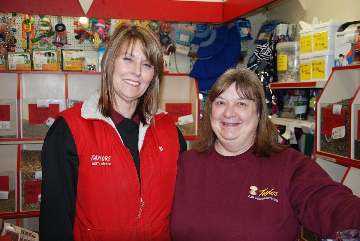 Staff at Ilkeston branch