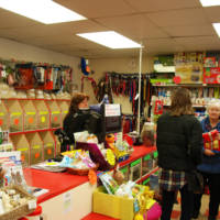 Inside of the Kirkby-in-Ashfield shop