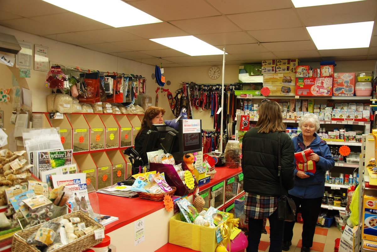 Inside of the Kirkby-in-Ashfield shop