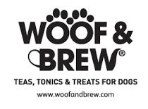 Woof & Brew logo